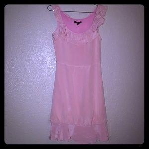 Size 4 beautiful pink Betsey Johnson dress